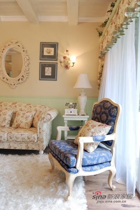 田园 四居 客厅图片来自用户2737791853在【多图】乡村田园风格~暖色调小碎花25的分享