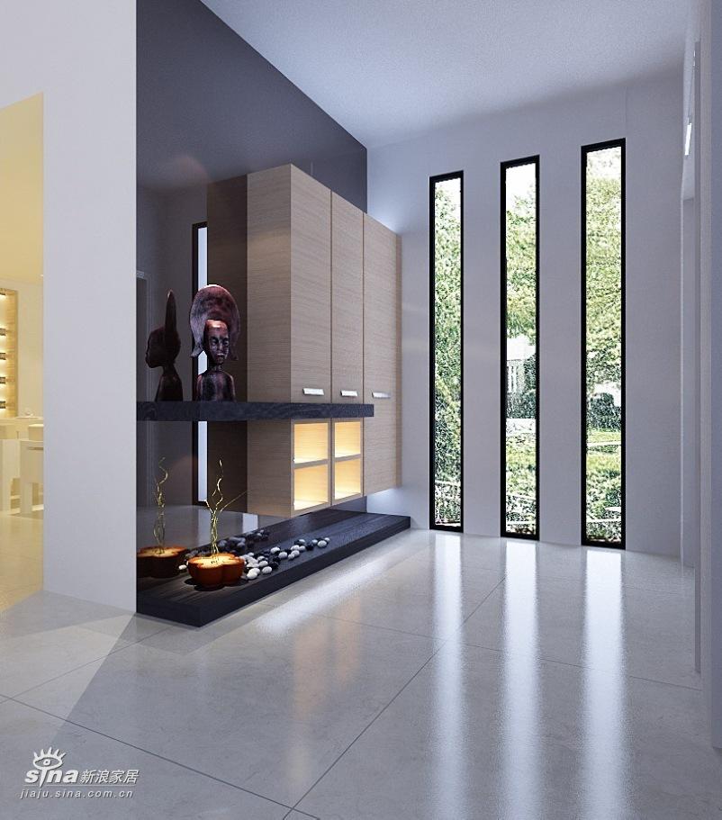 简约 别墅 玄关图片来自用户2737759857在360平达观别墅极简风格36的分享