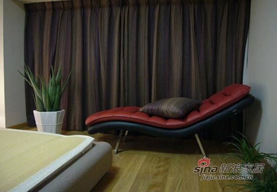 主卧室的休闲躺椅