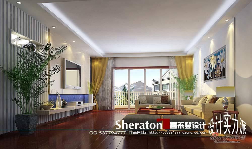 简约 三居 客厅图片来自用户2737782783在悠然淡雅15的分享