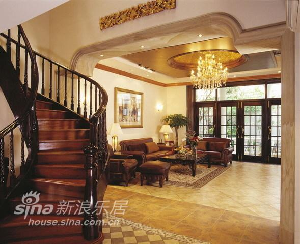 中式 别墅 客厅图片来自用户2757926655在环湖庄园50的分享