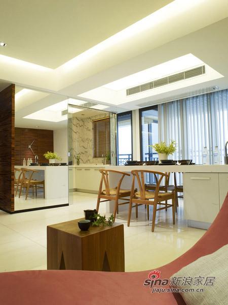 欧式 三居 餐厅图片来自用户2745758987在230㎡白与简——锦园样板房55的分享