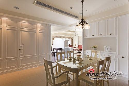 新古典 三居 餐厅图片来自用户1907664341在165平古典欧式奢华3房2厅 不计成本砸钱豪装34的分享