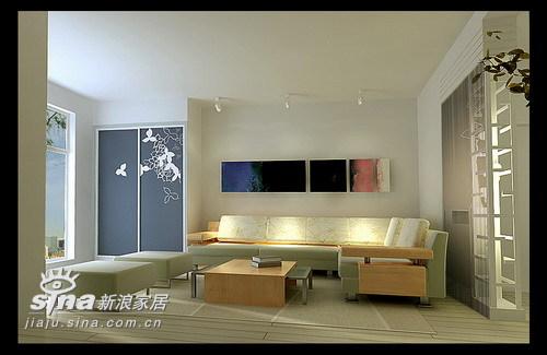 简约 三居 客厅图片来自用户2737735823在德山生活湾79的分享