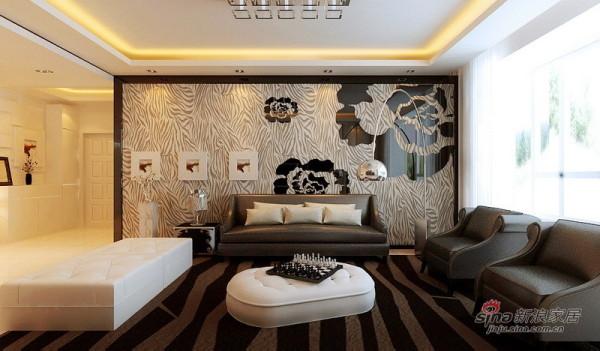 现代时尚大气190平别墅设计3