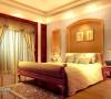 嵌入式的主题墙为次卧赢得了空间感