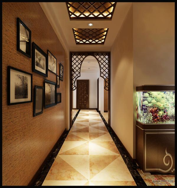 东南亚风格三室两厅效果图展示