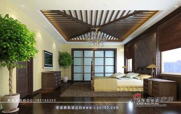 欧式 别墅 卧室图片来自用户2746948411在传说中的豪宅设计52的分享