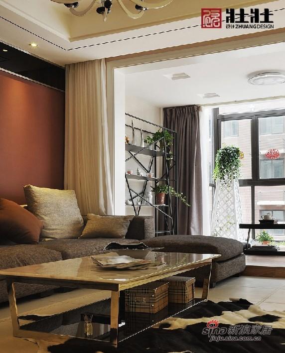 简约 四居 客厅图片来自用户2738820801在半包160㎡现代简约公寓房16的分享