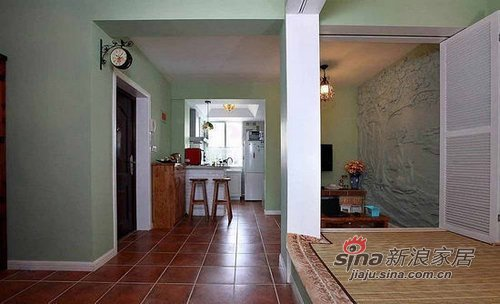 混搭 一居 其他图片来自用户1907691673在50平老房华丽惊变两房两厅10的分享