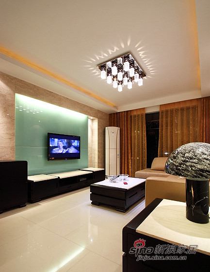 现代 三居 客厅图片来自装修微日记在【高清】8万打造105平现代雅致之家76的分享