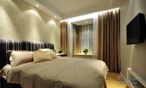 次卧室简洁陈设