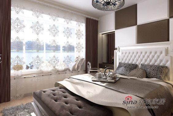简约 三居 卧室图片来自用户2737786973在120平广电兰亭都荟简约风格三居室48的分享