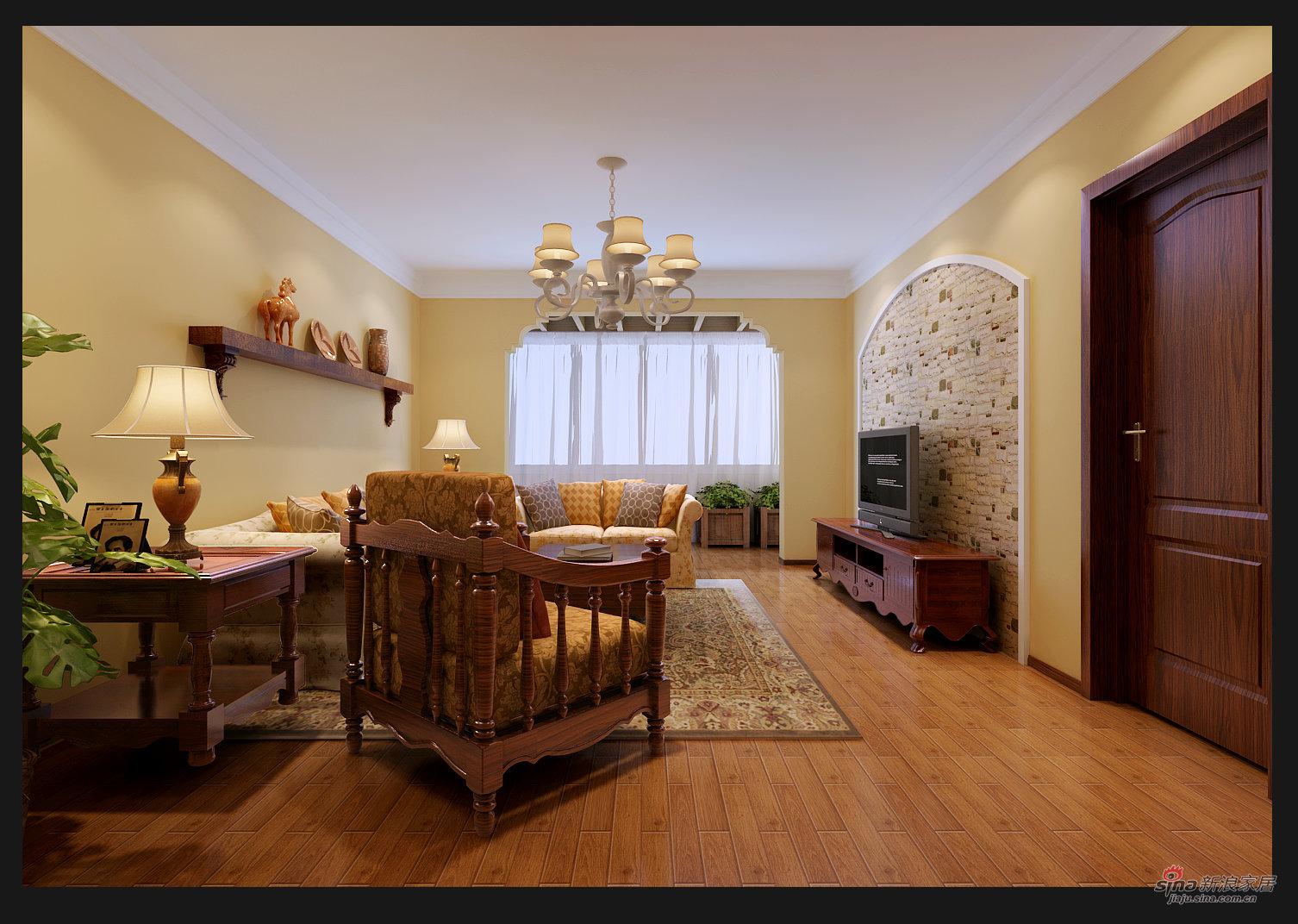 简约 三居 客厅图片来自用户2737759857在金隅花石匠三居简约风格25的分享