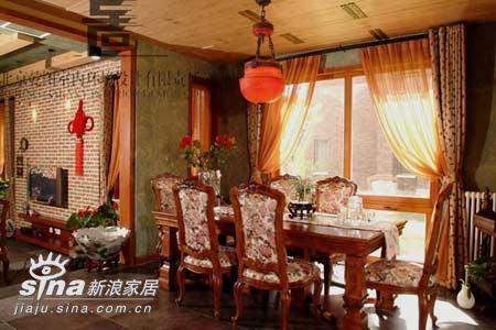 欧式 复式 餐厅图片来自用户2772856065在欧式风格餐厅95的分享