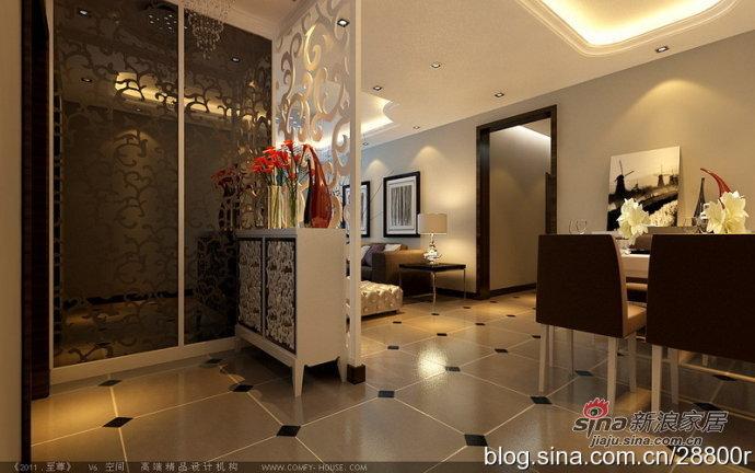 简约 三居 玄关图片来自用户2738820801在140平简约低调奢华3室2厅27的分享