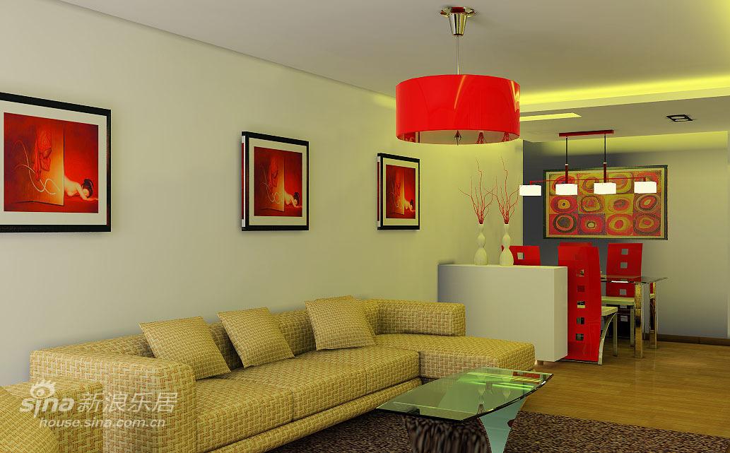 简约 三居 客厅图片来自用户2739081033在简约--经济色彩改变光线98的分享