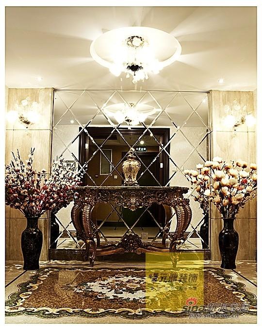 欧式 三居 玄关图片来自用户2746889121在奢华欧式元洲装饰案例84的分享