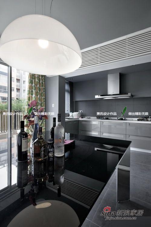 简约 三居 餐厅图片来自用户2738845145在120平高清精致开放式灰色系大三居98的分享