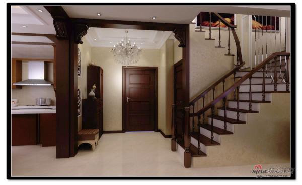恒大绿洲-楼梯效果图