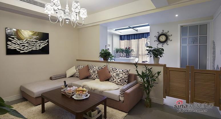 简约 二居 客厅图片来自用户2737786973在小两口12万打造90平华丽新家67的分享