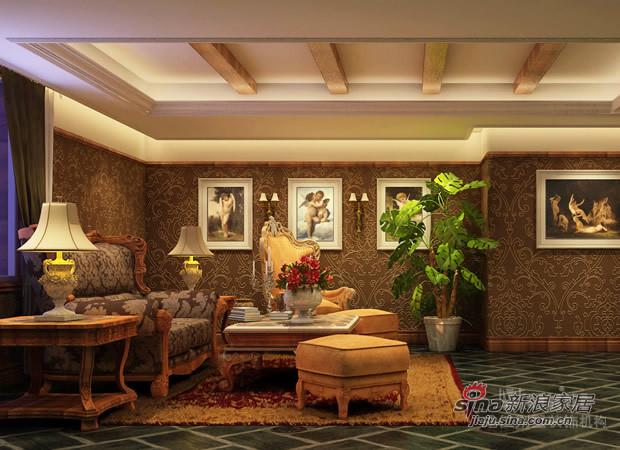 欧式 别墅 客厅图片来自用户2746889121在欧郡香水城77的分享