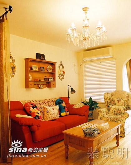其他 二居 客厅图片来自用户2737948467在温馨两居室 享受城市里的桃源生活177的分享