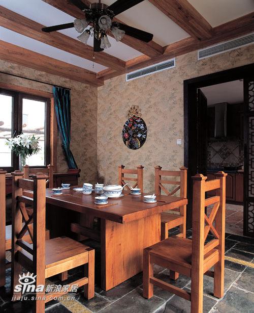 中式 别墅 餐厅图片来自用户2757926655在简约中的异域之魅30的分享