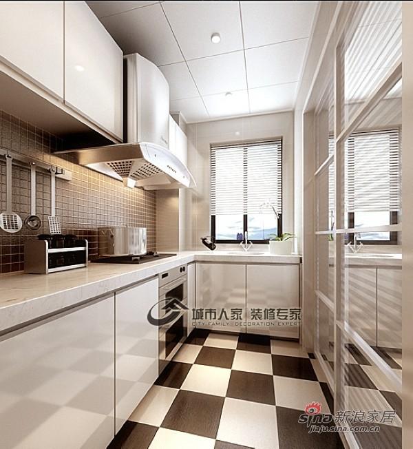 欧式 四居 厨房图片来自城市人家犀犀在白色欧式风情14的分享