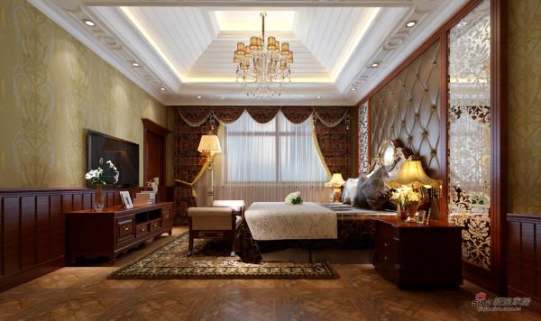 老总装402平米欧式豪华复古别墅案例