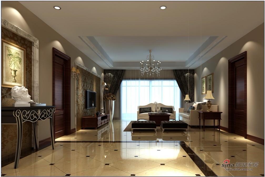 欧式 三居 客厅图片来自用户2745758987在140平米简欧设计舒适大方家居40的分享