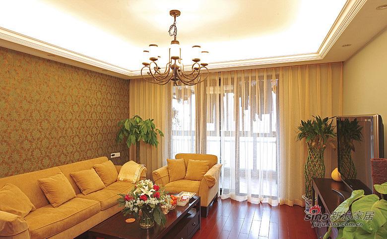 现代 三居 客厅图片来自装修微日记在【高清】9万打造101平现代雅致空间52的分享
