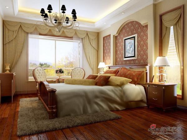 简欧卧室设计方案一