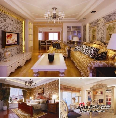 欧式 三居 其他图片来自用户2745758987在7.2万铸造欧式奢华三居室42的分享