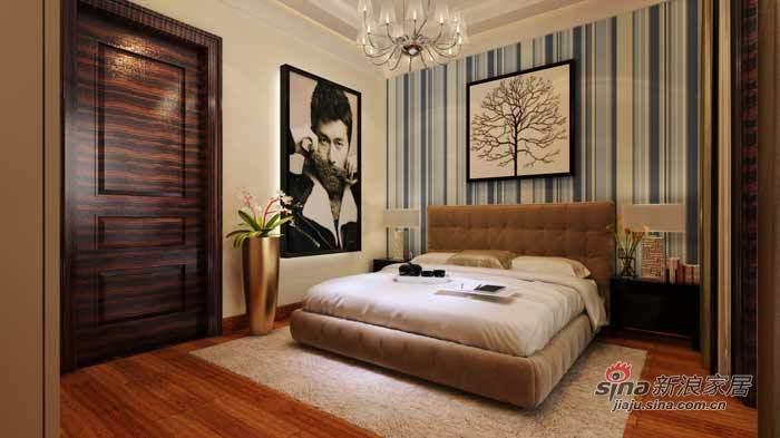 背景墙 房间 家居 设计 卧室 卧室装修 现代 装修 700_393图片