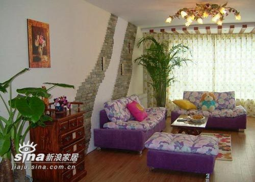 其他 三居 客厅图片来自用户2558757937在3居室只花3万搞定64的分享