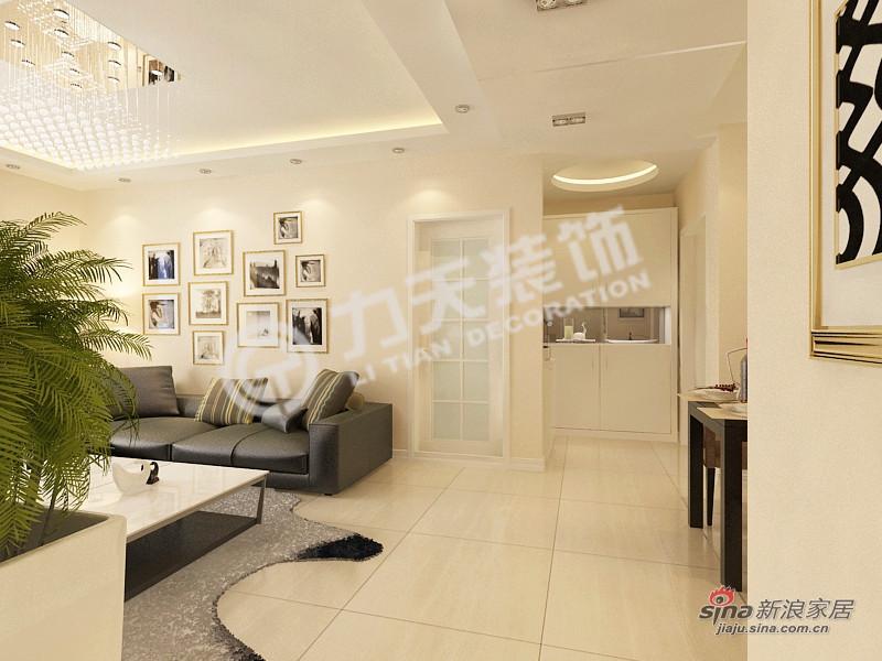 简约 二居 玄关图片来自阳光力天装饰在和平时光-两室一厅-现代简约61的分享