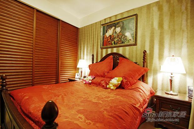 简约 二居 卧室图片来自用户2737786973在6.2万打造90平现代简约时尚二居室90的分享