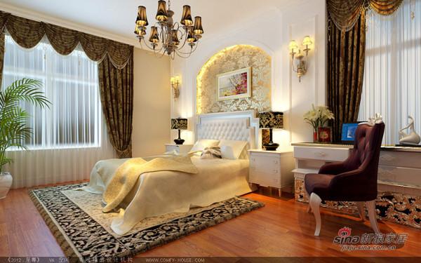 主卧室典雅设计