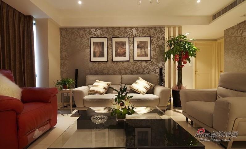 简约 三居 客厅图片来自用户2737759857在160平方俏皮有爱大宅20的分享