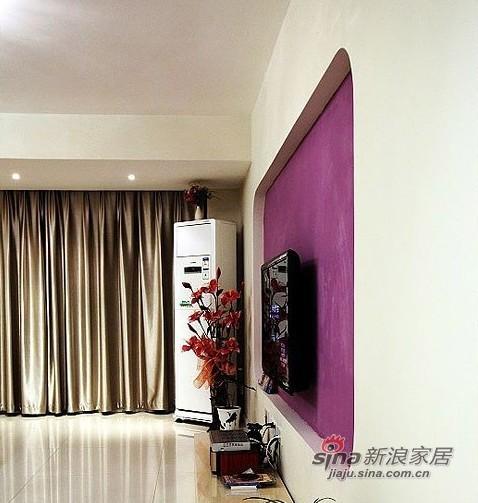 简约 三居 客厅图片来自用户2738093703在6万装好我的100平3室1厅94的分享