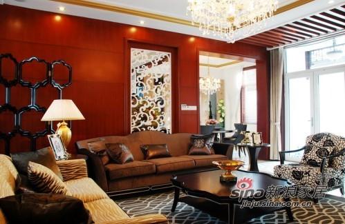 新中式奢华别墅 描画人的自然本性