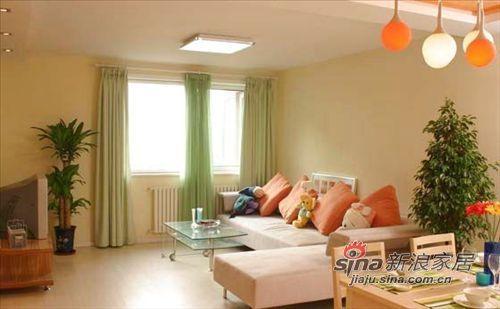 简约 三居 客厅图片来自用户2556216825在5万装115平温馨家91的分享