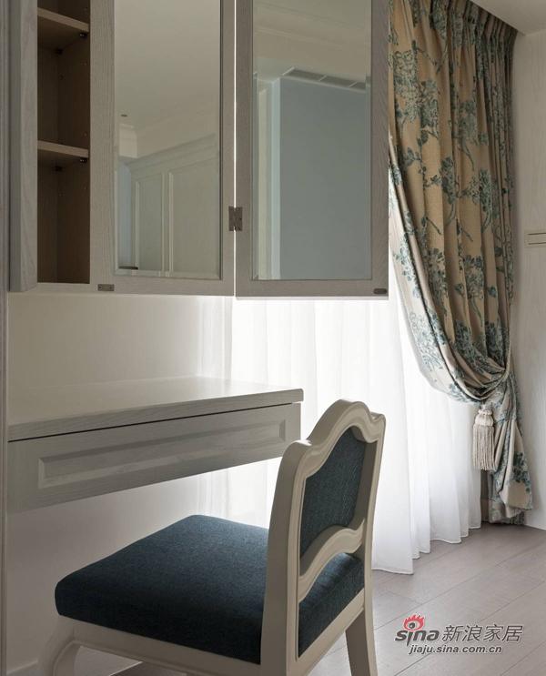 美式 复式 卧室图片来自佰辰生活装饰在17万打造165平时髦美式三口之家68的分享