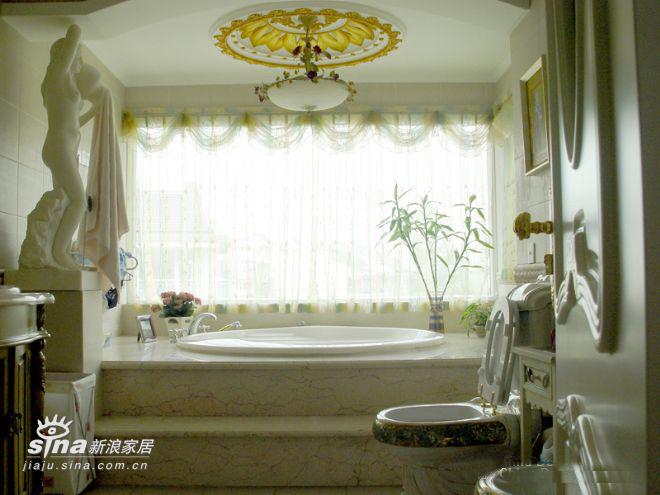 欧式 别墅 卫生间图片来自用户2746953981在某联体别墅14的分享