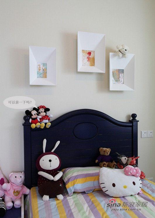 现代 三居 儿童房图片来自佰辰生活装饰在8万打造102平现代休闲主义舒居20的分享