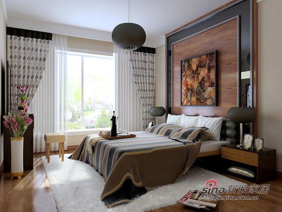 简约 二居 卧室图片来自用户2558728947在6.8万倾情打造116平温馨家33的分享