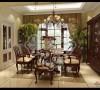 天津尚层装饰复地温莎堡460㎡别墅装修效果图93