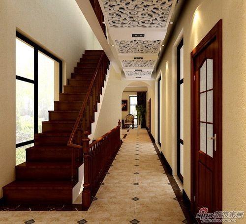 碧水庄园320㎡超大美式乡村别墅设计