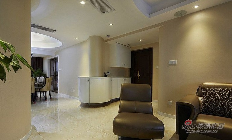 简约 三居 客厅图片来自用户2737759857在127㎡时尚三居室实景图86的分享